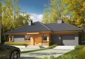nha cap 4 don gian dep 002 300x207 - Thiết kế nhà vườn đẹp