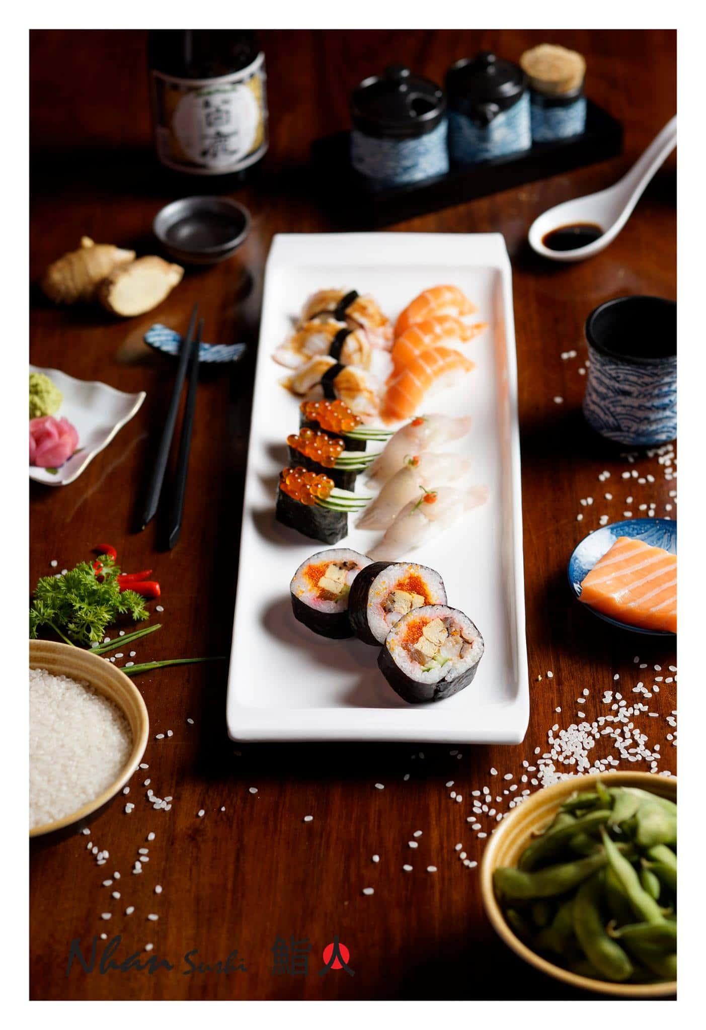 nha hang nhat ban 1 - Thiết kế nhà hàng đẹp phong cách Nhật Bản