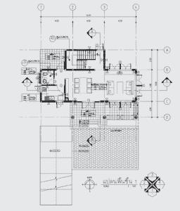 nha mai thai 2 tang su dung cot go 2 256x300 - Nhà mái thái 2 tầng với hệ thống cột gỗ đẹp và lạ