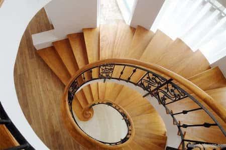 noi that cau thang go dep 014 - Tổng hợp các mẫu thiết kế cầu thang đẹp hiện nay