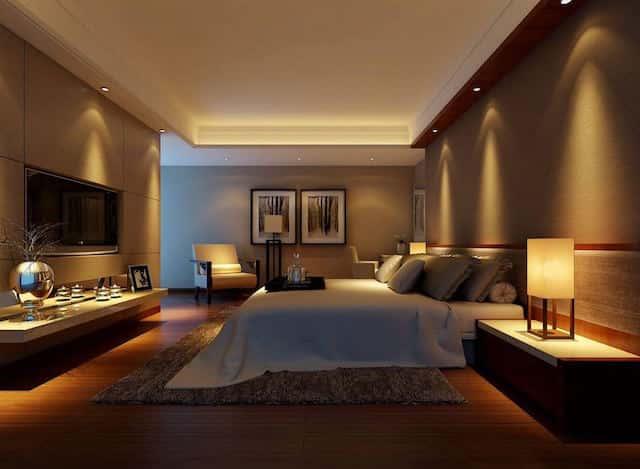 phong ngu dep pnd001 - Thiết kế nội thất phòng ngủ