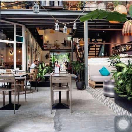 Thiết kế quán cafe đẹp có nhiều khách tới ở Hà Nội