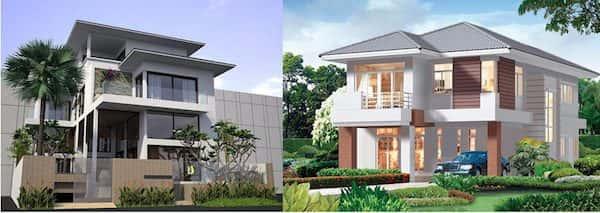 9 Mẫu thiết kế biệt thự đẹp và sang trọng