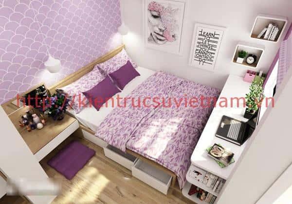 thiet ke noi that phong ngu cho mua cuoi 003 - Nội thất phòng ngủ hiện đại sang trọng