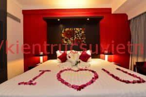 thiet ke noi that phong ngu cho mua cuoi 009 300x200 - Tư vấn các mẫu thiết kế nội thất phòng ngủ  lãn mạn nhất cho những cặp sắp cưới đây lãn mạn