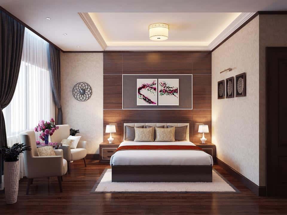 thiet ke noi that phong ngu noi that xanh 007 - Tốp 100 mẫu  thiết kế nội thất phòng  ngủ đẹp nhất 2016
