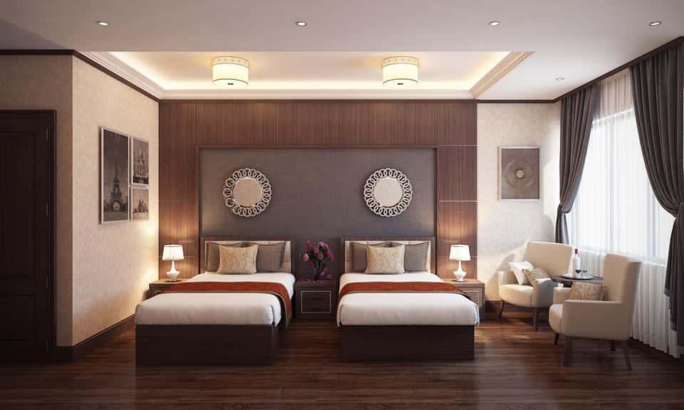 thiet ke noi that phong ngu noi that xanh 009 - Tốp 100 mẫu  thiết kế nội thất phòng  ngủ đẹp nhất 2016
