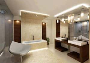 thiet ke noi that phong tam 2409 cn015 300x212 - 20 mẫu thiết kế nội thất phòng tắm tuyệt đẹp và đơn giản
