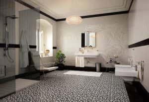 thiet ke noi that phong tam 2409 cn026 300x206 - 20 mẫu thiết kế nội thất phòng tắm tuyệt đẹp và đơn giản
