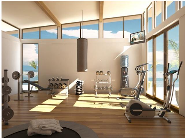 tn thiet kê noi that phong tap gym tai nha 001 - Bộ sưu tập mẫu thiết kế nội thất phòng tập gym tại nhà  2016 tuyêt đẹp