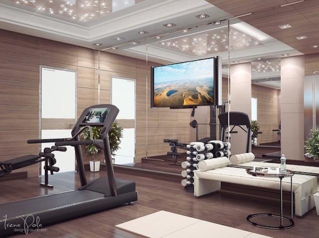 tn thiet kê noi that phong tap gym tai nha 0012 - Bộ sưu tập mẫu thiết kế nội thất phòng tập gym tại nhà  2016 tuyêt đẹp