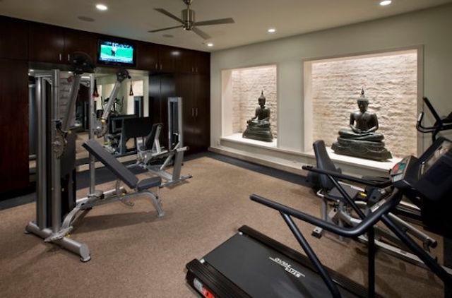tn thiet kê noi that phong tap gym tai nha 0013 - Bộ sưu tập mẫu thiết kế nội thất phòng tập gym tại nhà  2016 tuyêt đẹp