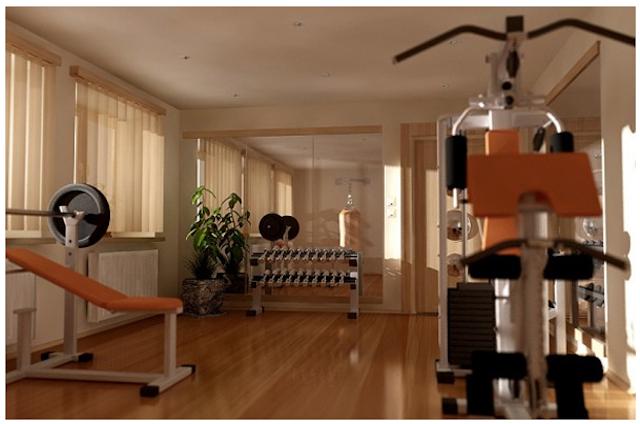 tn thiet kê noi that phong tap gym tai nha 003 - Bộ sưu tập mẫu thiết kế nội thất phòng tập gym tại nhà  2016 tuyêt đẹp