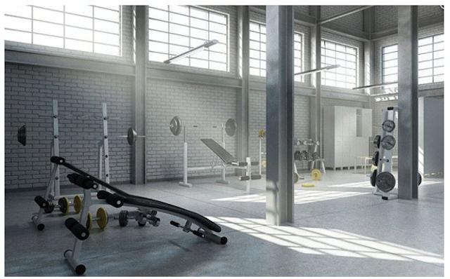 tn thiet kê noi that phong tap gym tai nha 006 - Bộ sưu tập mẫu thiết kế nội thất phòng tập gym tại nhà  2016 tuyêt đẹp