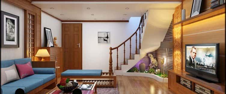 Tư vấn thiết kế nội thất nhà lô 3 tầng mặt tiền 4 x 10m