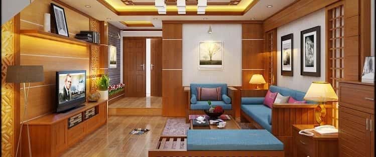 Tư vấn mẫu thiết kế nội thất nhà Phố  đẹp đơn giản mặt tiền 4.5 m