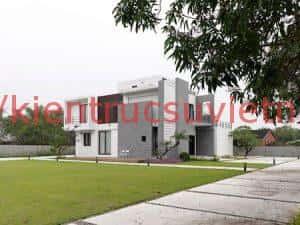 biet thu 2 tang 311016a 300x225 - Thiết kế biệt thự 2 tầng đẹp hài hoà với thiên nhiên