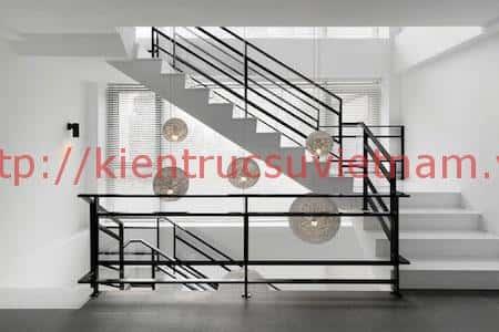 biet thu 2 tang 311016h - Thiết kế biệt thự 3 tầng chữ L đẹp
