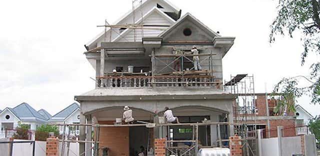 Thi công xây dựng biệt thự ở tại Trà Vinh