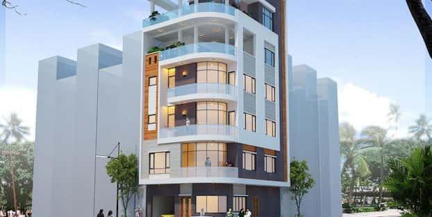 Thiết kế nhà 6 tầng đẹp