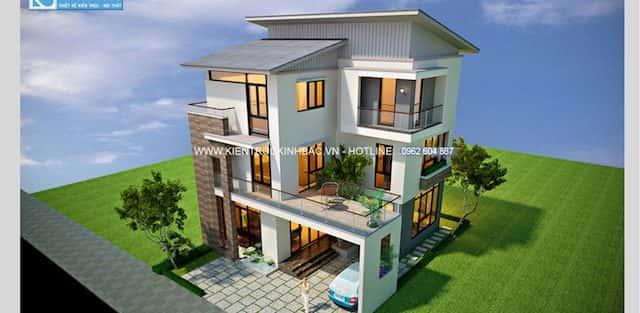 Tư  vấn thiết  kế Nhà 30 m2, xây 3 tầng
