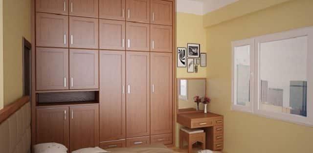 Tư vấn chọn tủ quần áo đẹp đơn giản cho nội thất phòng ngủ tinh tế hơn