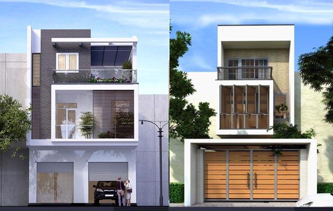 thiết kế nhà 3 tầng mặt tiền 3m