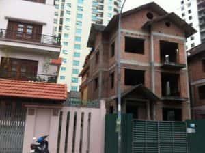 thi cong biet thu 3 tang 300x224 - Thi công xây dựng biệt thự ở tại Phú Yên