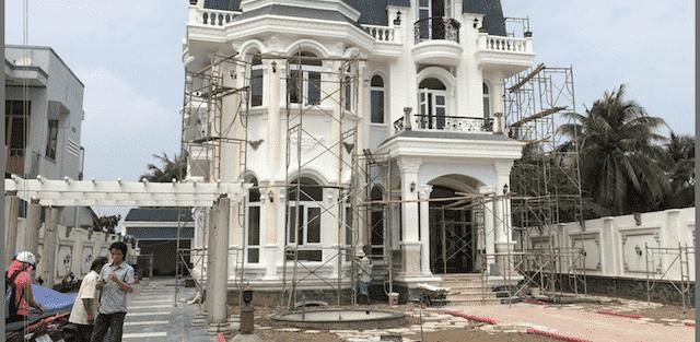 Thi công xây dựng biệt thự ở tại Đà Nẵng