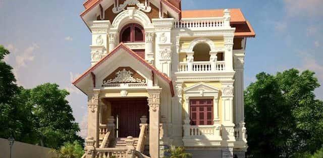 Thi công xây dựng biệt thự ở tại Hà Nội