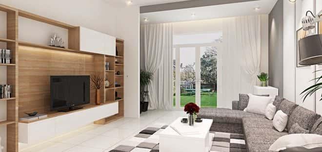 Tư vấn thiết kế nội thất  nhà ống  mặt tiền 3m