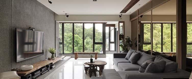 Tư vấn thiết kế nội thất nhà ống mặt tiền 5.5 m