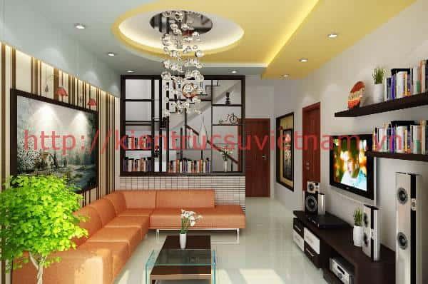 thiet ke noi that phong khach nha ong 005 - Thiết kế nội thất phòng khách - 4 bước đơn giản tạo nên không gian đẹp