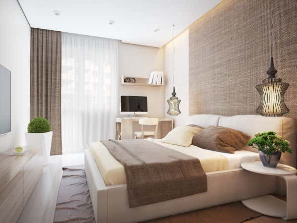 thiet ke noi that phong ngu cn 2409 032 - Thiết kế nội thất phòng ngủ