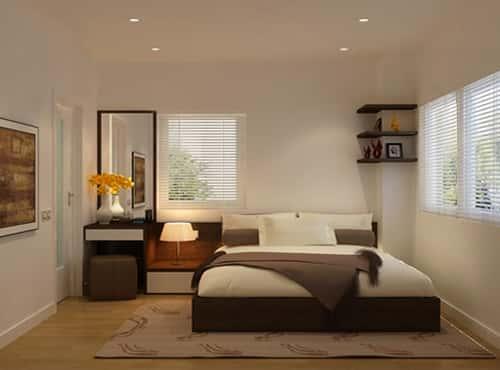 thiet ke noi that phong ngu nha ong 01 - Thiết kế nội thất chung cư 2 phòng ngủ
