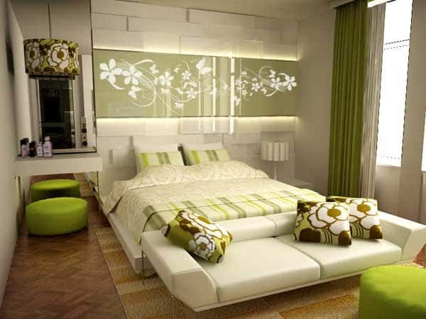 thiet ke noi that phong ngu nha ong 015 - Thiết kế nội thất chung cư 2 phòng ngủ