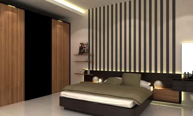 thiet ke noi that phong ngu nha ong 017 - Thiết kế nội thất chung cư 2 phòng ngủ
