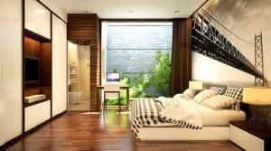 thiet ke noi that phong ngu nha ong 019 300x167 - Tư vấn thiết kế nội thất chung cư 80m2