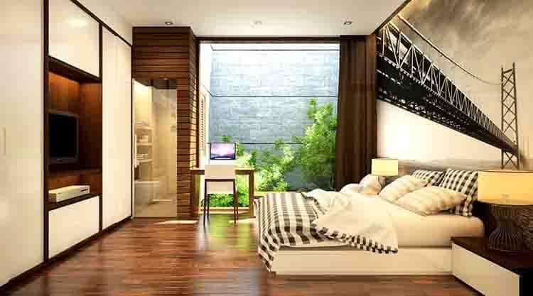thiet ke noi that phong ngu nha ong 019 - Thiết kế nội thất chung cư 2 phòng ngủ