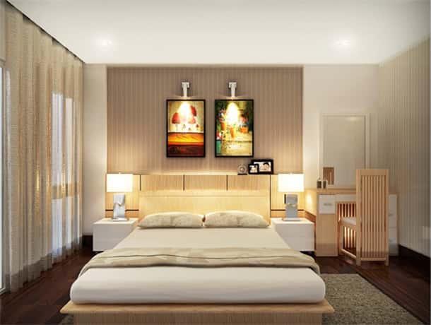 Thiết kế nội thất chung cư 2 phòng ngủ với 25 mẫu đơn giản, tinh tế, độc đáo