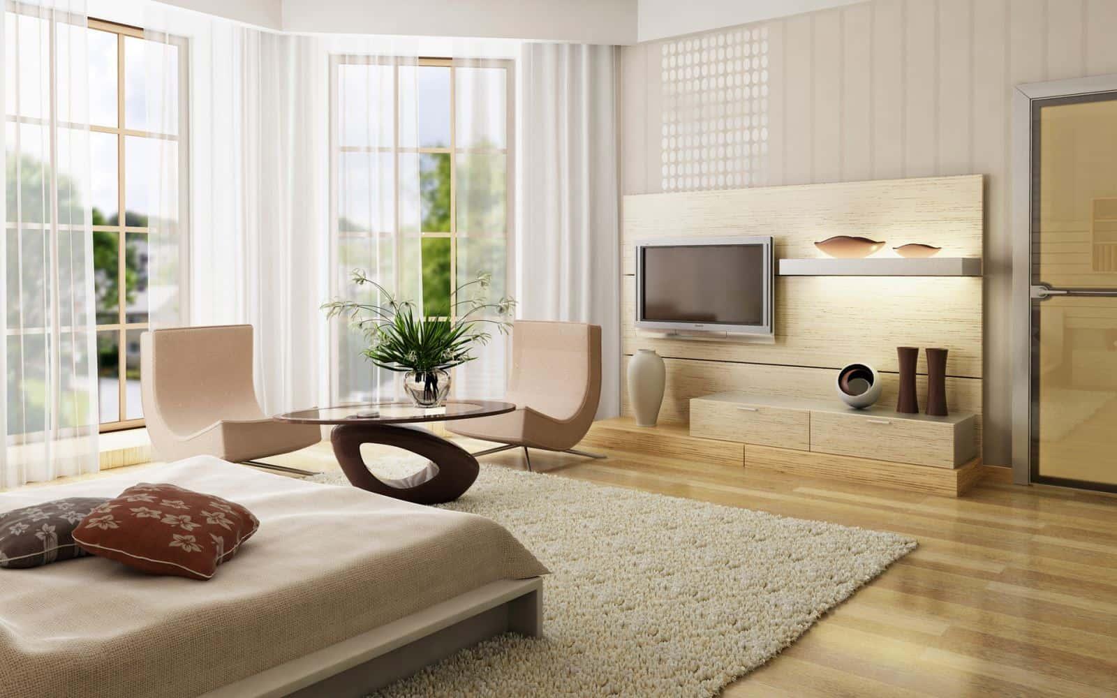thiet ke noi that phong ngu nha ong 05 - Thiết kế nội thất chung cư 2 phòng ngủ