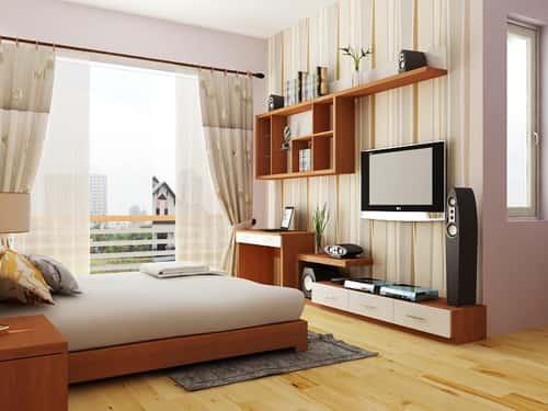thiet ke noi that phong ngu nha ong 06 - Thiết kế nội thất chung cư 2 phòng ngủ