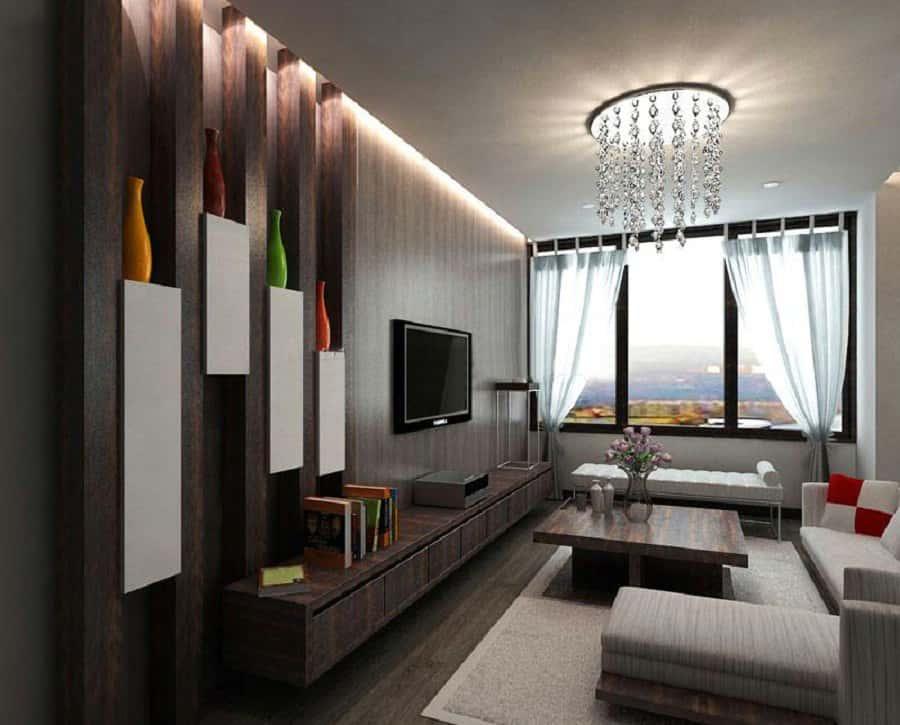 thiet ke phong khach don gian 06 - Thiết kế nội thất phòng khách - 4 bước đơn giản tạo nên không gian đẹp