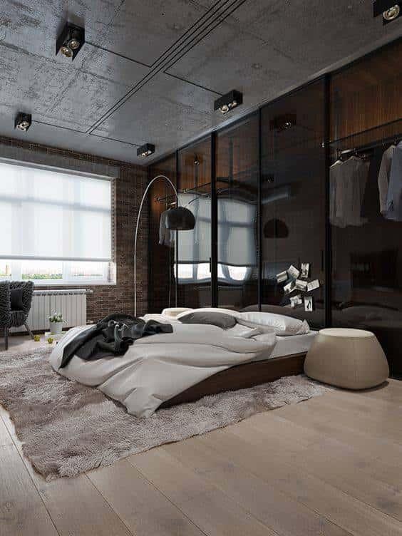 thiet ke phong ngu nha ong hien dai 001 8 - Nhà 3 phòng ngủ 1 tầng đẹp