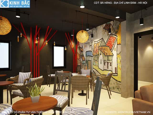 thiet ke quan cafe linh dam 6 - Khởi nghiệp (starup) kinh doanh quán cafe thành công