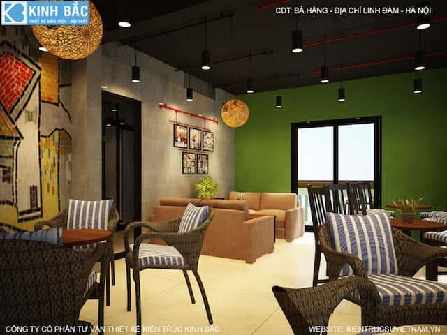 thiet ke quan cafe linh dam 7 - Khởi nghiệp (starup) kinh doanh quán cafe thành công