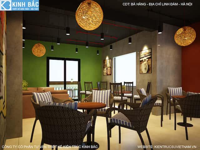 thiet ke quan cafe linh dam 9 - Khởi nghiệp (starup) kinh doanh quán cafe thành công