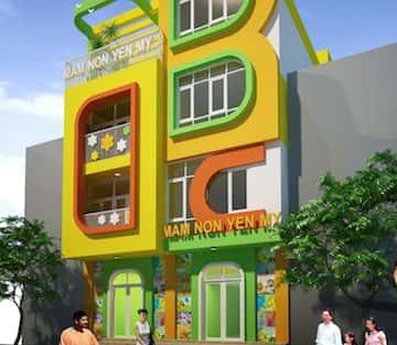 Thiết kế nội thất trường mầm non tại Bắc Ninh