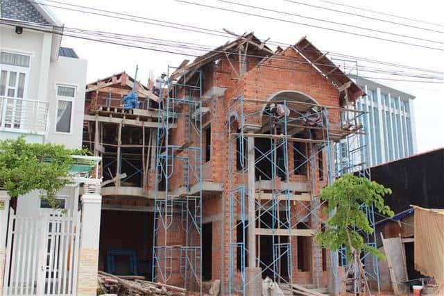 xay biet thu 002 - Thi công xây dựng biệt thự ở tại Tuyên Quang