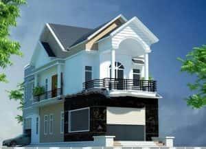 biet thu 2 tang dep kinh phi 700 trieu b 300x217 - 28 Mẫu thiết kế nhà 2 tầng mái ngói đẹp